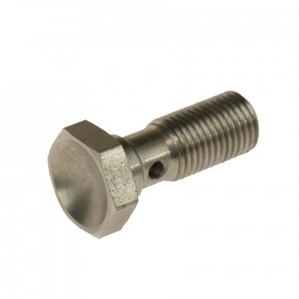Motamec -3 AN 3/8 UNF 25mm Long Stainless Steel Banjo Bolt Brake Fitting