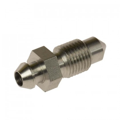 Motamec M10 x1mm Stainless Steel Brake Bleed Nipple Fitting