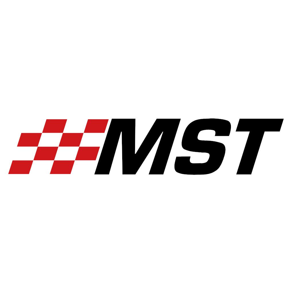Motamec Pro Race Rally Steering Wheel Flat 3 Spoke 350mm Black Suede Black Spoke