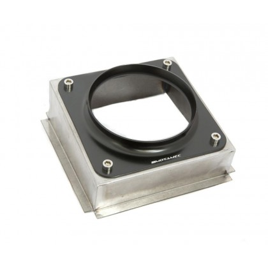 Motamec Alloy Gear Lever Surround Box & Gear Stick Gaiter Plate Cover Black