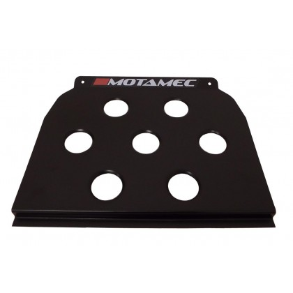 Motamec Universal Black Floor Mounted Driver Heel Rest Foot Plate