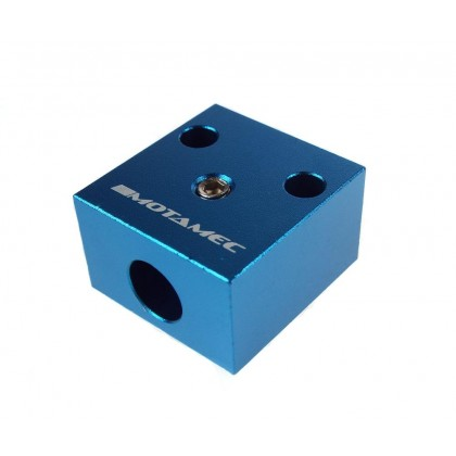 Motamec Twin Throttle Cable Pedal Block Mounting Attachment Alloy