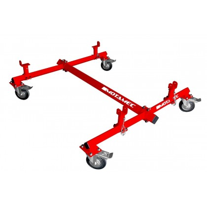 Motamec Universal Car Body Shell Chassis Trolley H-Duty Castors Bodyshell Dolly