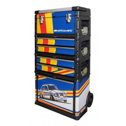 Motamec Modular Tool Box Trolley Mobile Cart Cabinet Chest Escort Mk2 Rothmans