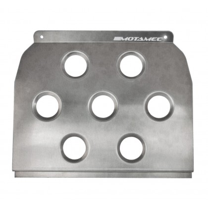 Motamec Universal Alloy Floor Mounted Driver Heel Rest Foot Plate