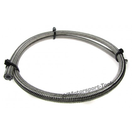 Motamec AN6 AN -6 PTFE Teflon Stainless Steel Braided Fuel Hose 1m Race Rally