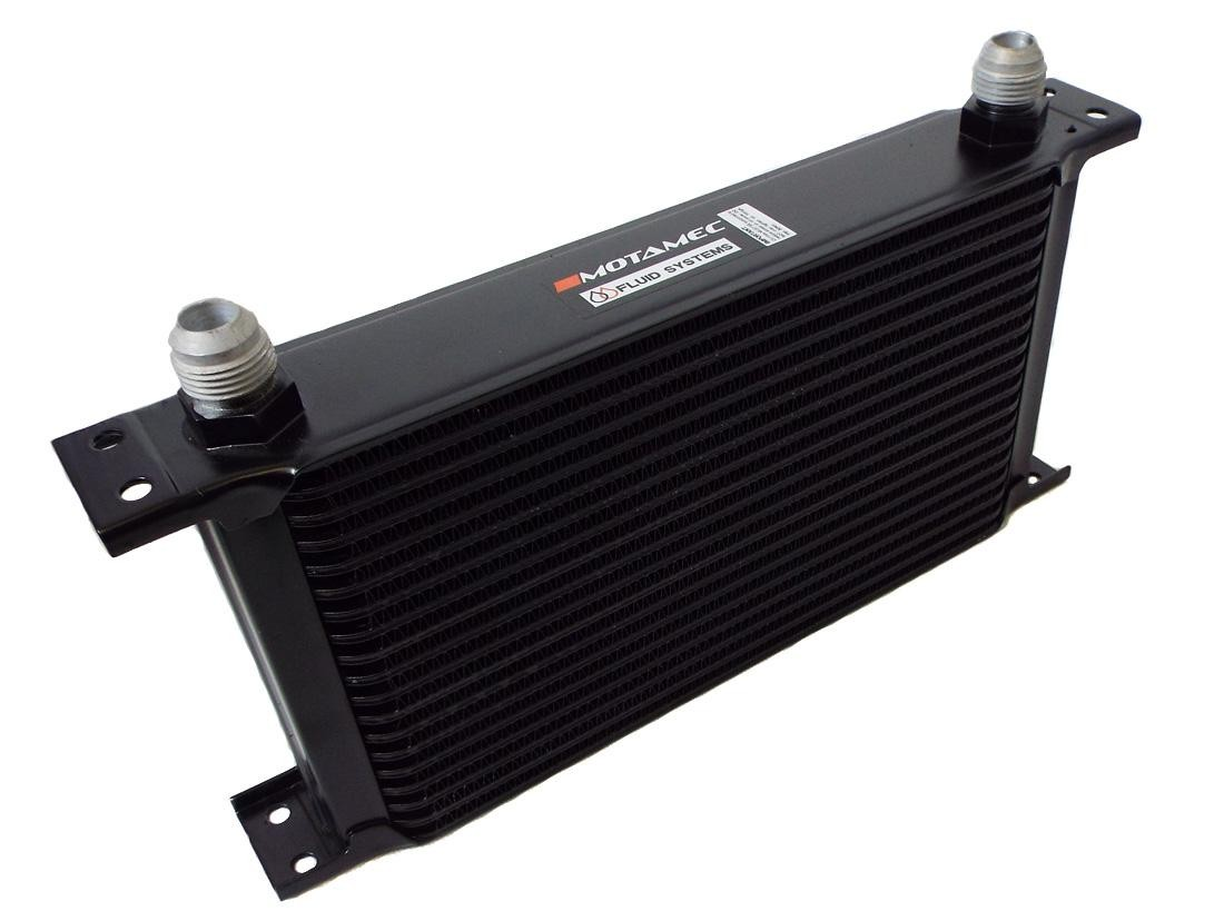 Engine Oil Cooler : Motamec oil cooler row mm matrix an jic
