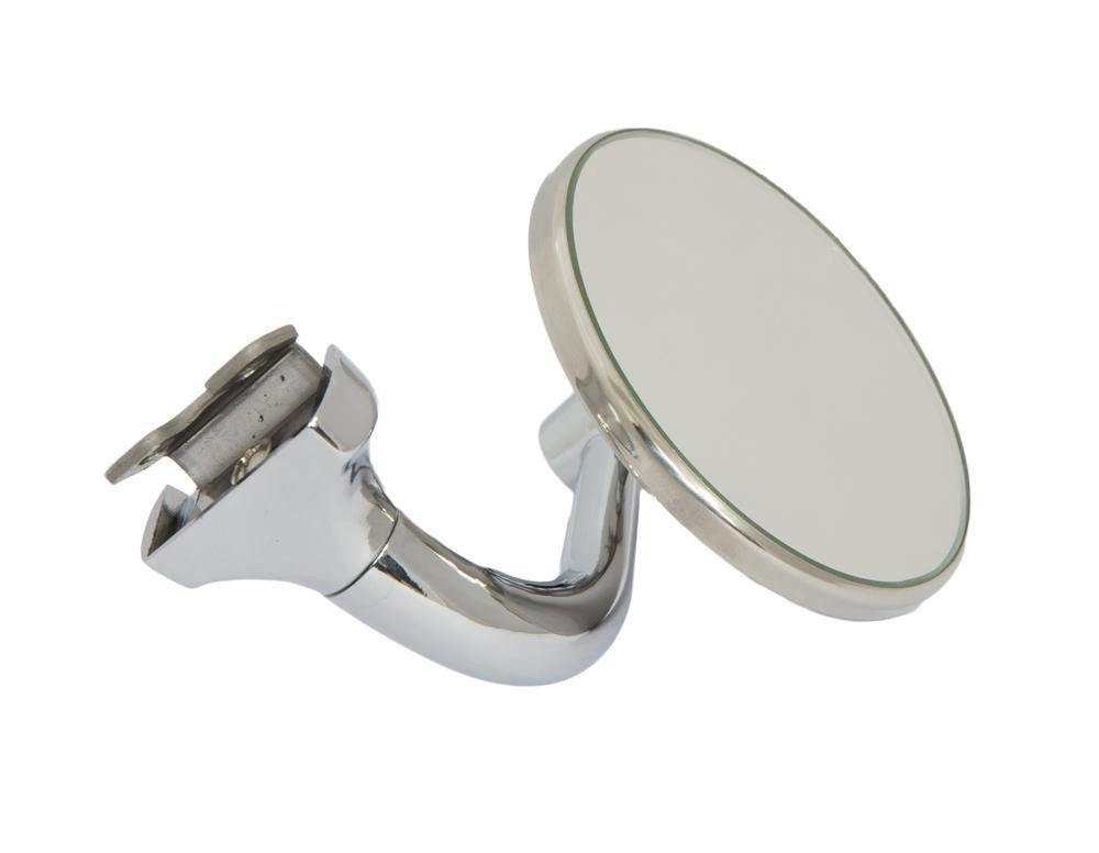 Motamec Classic Car Side Door Wing Mirror X2 Chrome Small