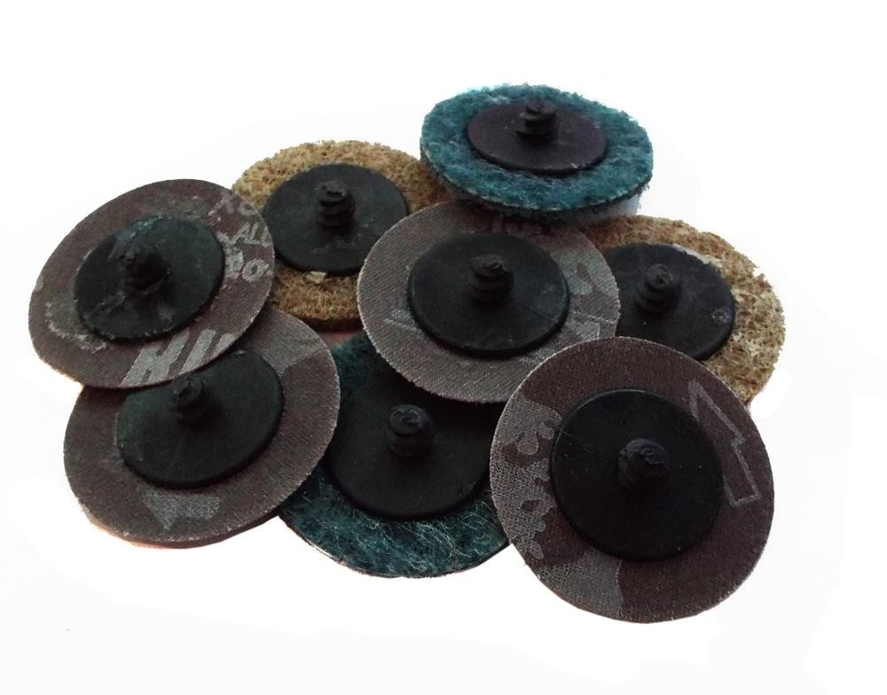 Motamec 50mm Quick Change Sanding Discs Accesory Pack For