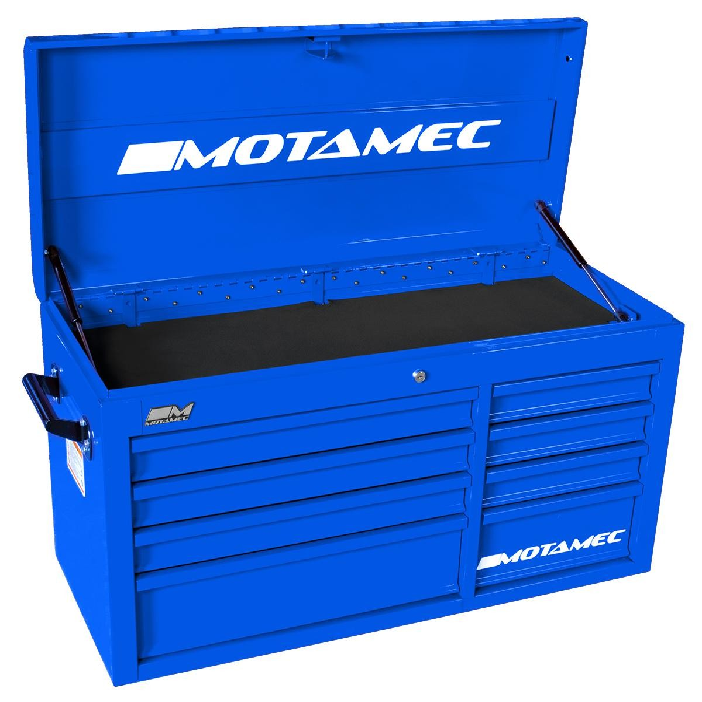 motamec classic c94 large top chest tool box cabinet blue. Black Bedroom Furniture Sets. Home Design Ideas